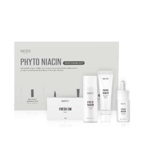 Nacific Набор миниатюр с ниацинамидом Phyto Niacin Whitening Kit