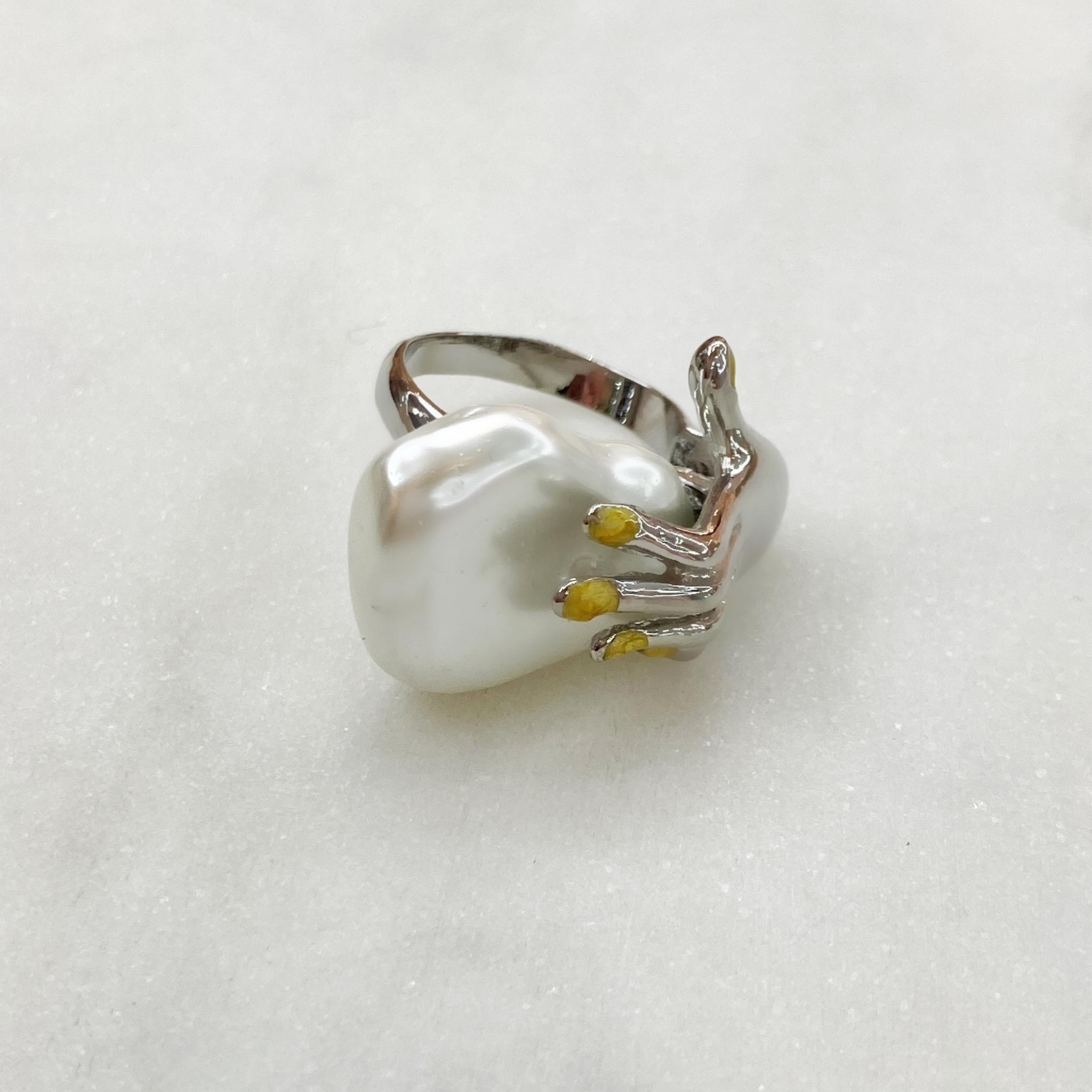 Кольцо Vi Скульптор (серебристый)
