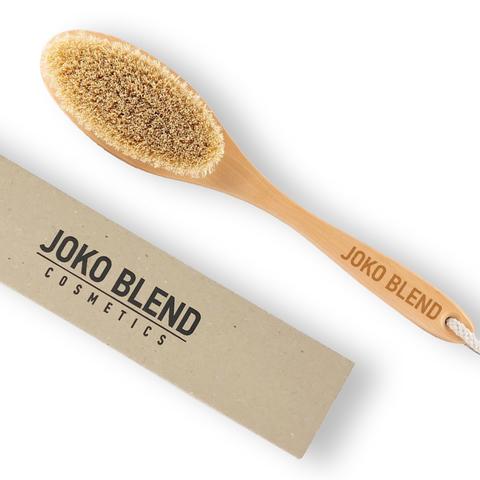 Масажна щітка для тіла + Кавовий скраб Joko Blend Orange 200 г В ПОДАРУНОК! (2)