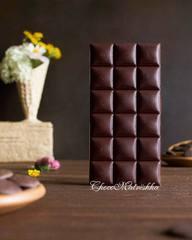 Форма поликарбонатная для шоколада - Плитка Нежность БРАК