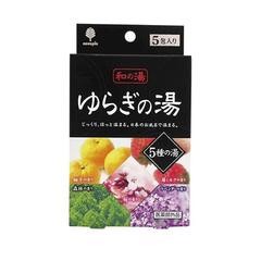Лечебна соль для ванн Kiyou Jochugiku Горячие источники 5 шт по 25 гр