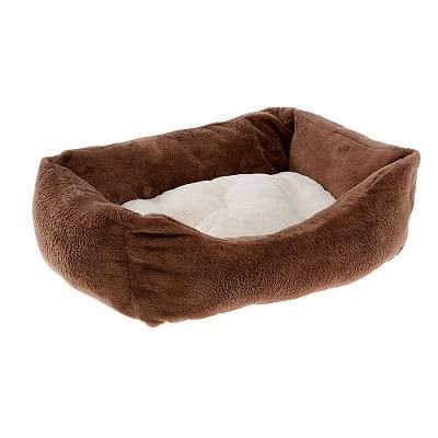 Лежанки Софа для собак и кошек, Ferplast COCCOLO 50 SOFT коричневая COCCOLO_50.jpg