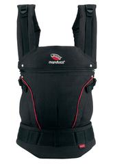 Слинг-рюкзак manduca First black/red (черный/красный)
