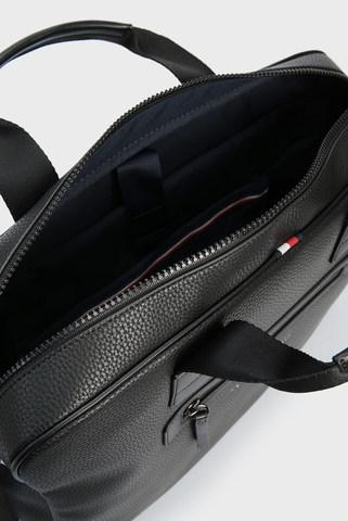 Мужская черная сумка для ноутбука ESSENTIAL Tommy Hilfiger