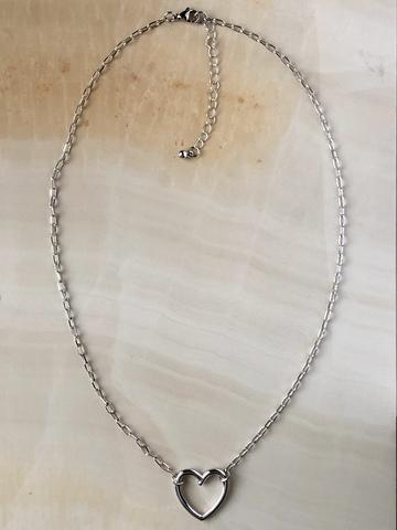 Колье Лоли, серебряный цвет