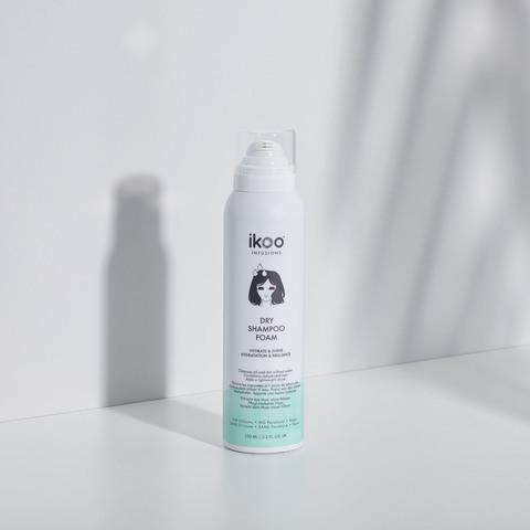 Сухой шампунь-пена ikoo dry shampoo foam