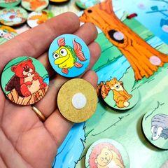 Игровой набор Небо, море и земля ToySib 03022