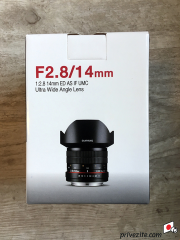 Объектив Samyang 14mm f/2.8 Black для Canon