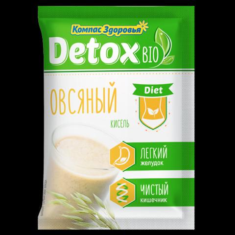 Компас здоровья кисель detox bio diet овсяный 25 г