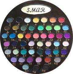 Полная палитра цветов, 49 оттенков, объем 20 мл, лаковые краски, перламутровые оттенки