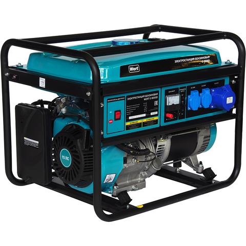 Генератор бензиновый WERT G 8000D
