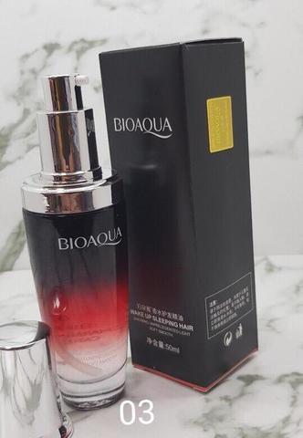 Увлажняющее масло- сыворотка Bioaqua для волос с эфирным маслом розы,50 мл
