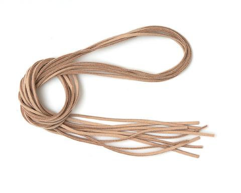 Шнур замшевый бежевый 3 мм