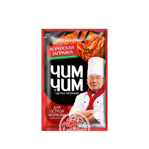 Корейская заправка для моркови острой ЧИМ ЧИМ 60г