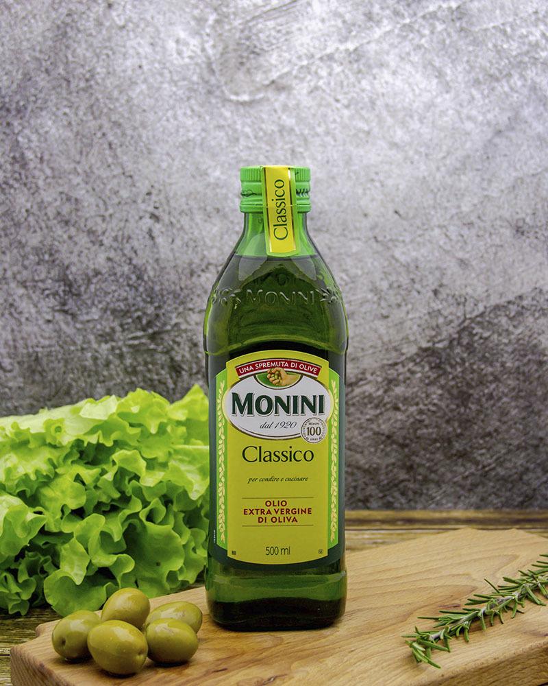 Масло оливковое Monini Экстра Вирджин Классико 0.5 л.