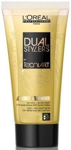 Крем-гель создание локонов для вьющихся волос, Loreal TecniART Dual Stylers,150 мл.