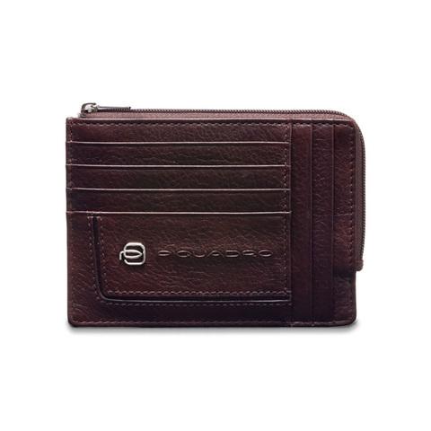 Чехол для кредитных карт Piquadro Vibe, коричневый 12,5x9x1 см
