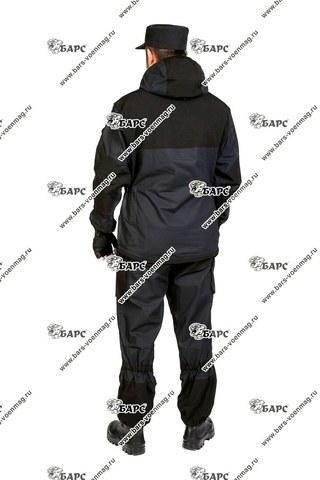 Камуфляжный костюм «Горка-4» Черный. Фото 3