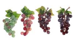 Виноград искусственный, средний 12 см, 22 ягоды.