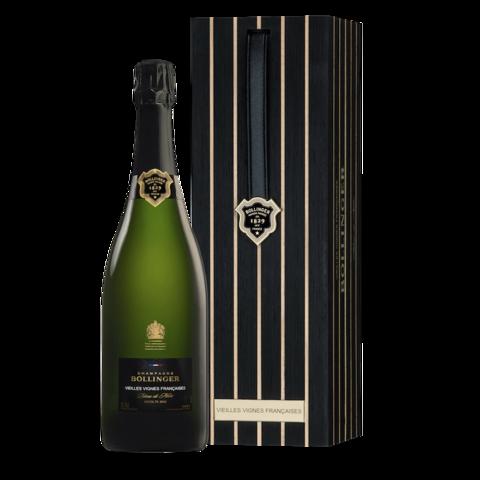 Bollinger Vieilles Vignes Francaises Brut в деревянной подарочной упаковке