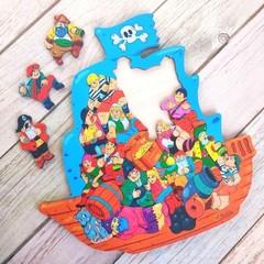 Головоломка-пазл Пираты ToySib 01087