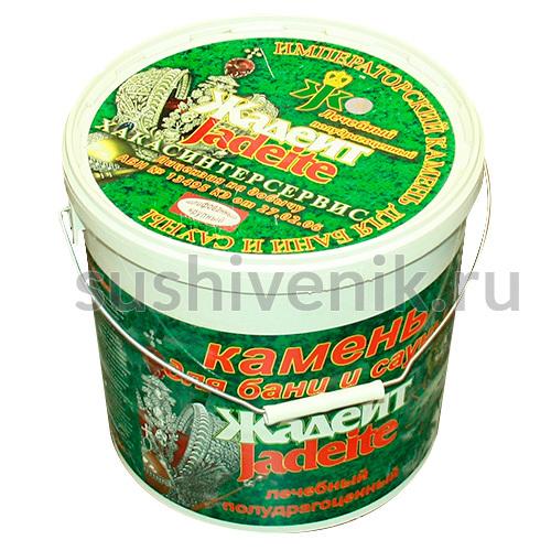 Жадеит шлифованный - упаковка (ведро)
