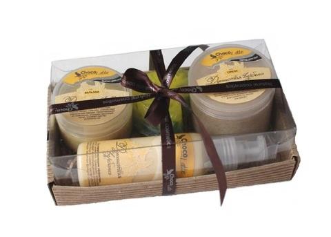 Набор подарочный №1 линия для ног Душистая Вербена (бальзам, смузи, молочко, мыло)/TM ChocoLatte