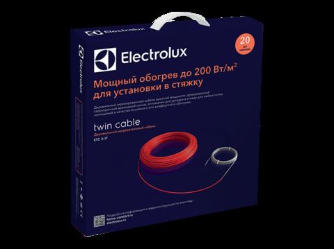 Комплект теплого пола (кабель) Electrolux ETC 2-17-1500