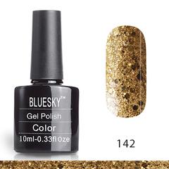 Гель-лак Bluesky № 142 (LV519), 10 мл