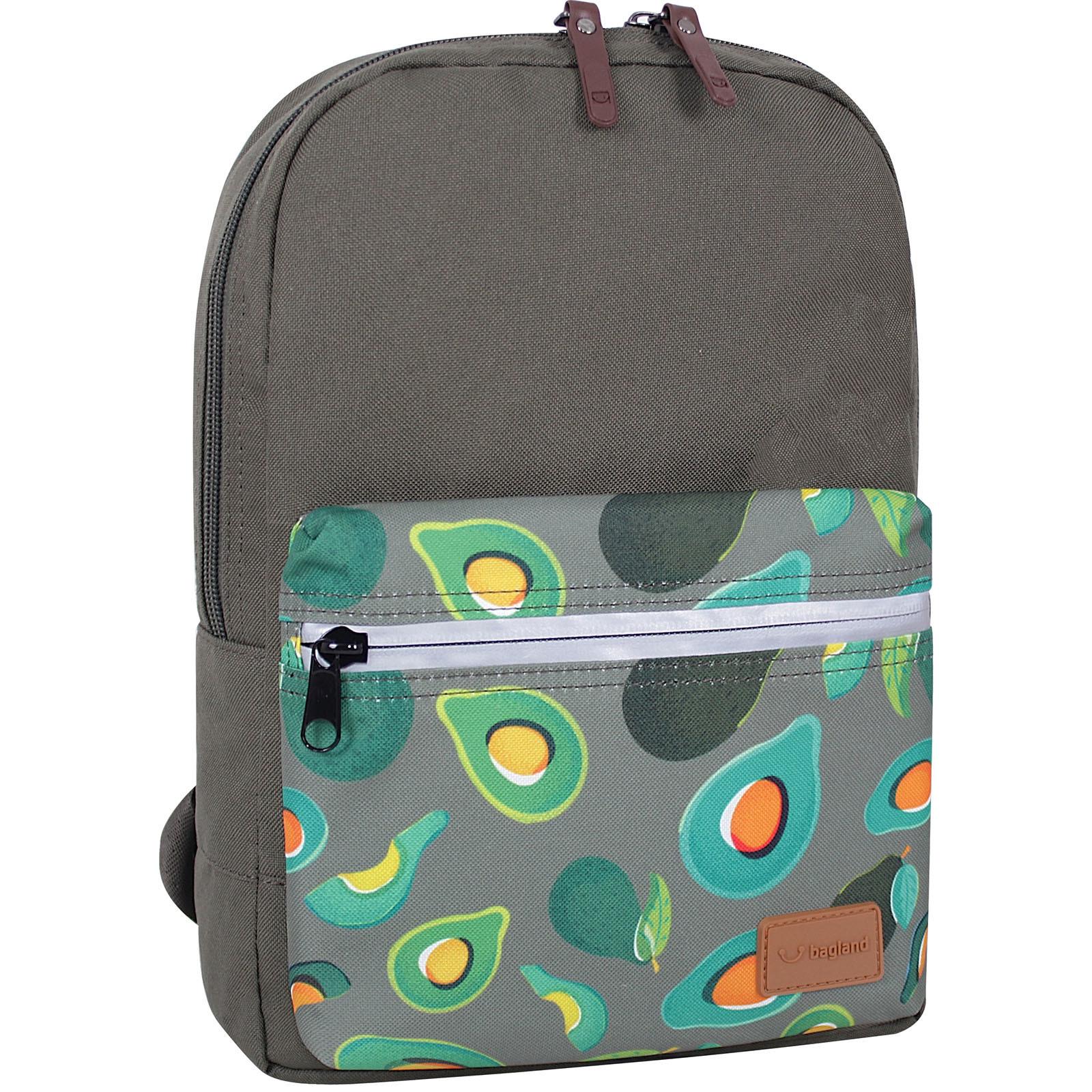 Молодежные рюкзаки Рюкзак Bagland Молодежный mini 8 л. хаки 754 (0050866) IMG_0872суб.754.JPG