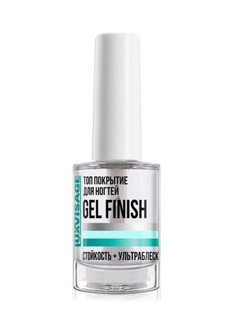LuxVisage Средство по уходу за ногтями Топ покрытие для ногтей GEL FINISH 9мл