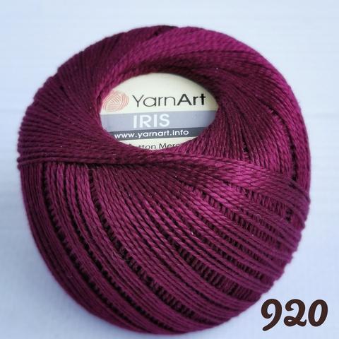 YARNART IRIS 920, Бордовый