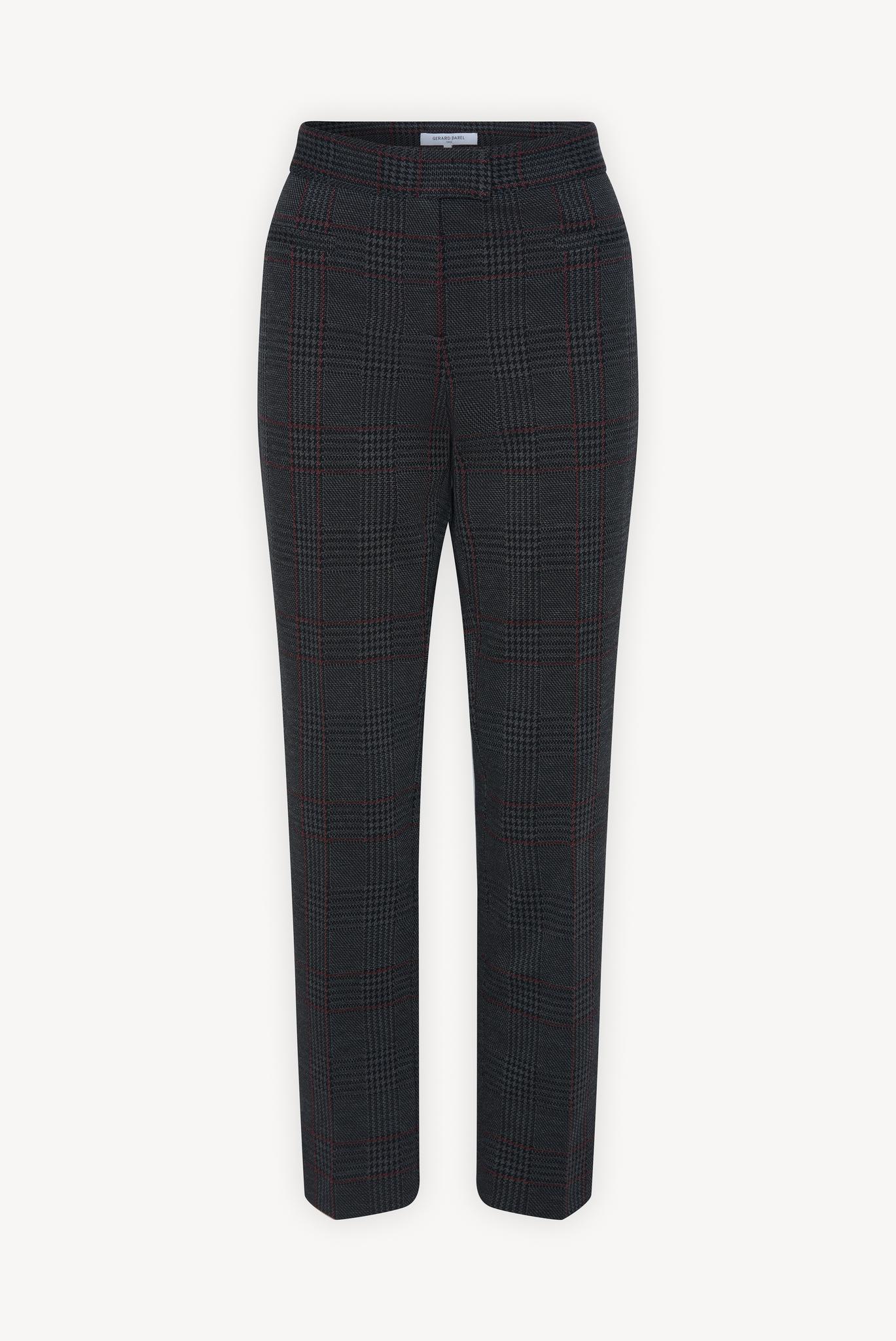 ELIOTT - Прямые брюки в клетку