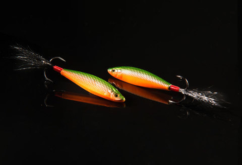 Бокоплав ручной работы Fire Fish цвет 001
