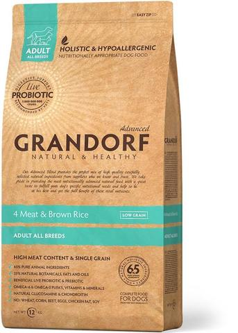 Grandorf 4 meat & Brown Rice Adult All Breeds