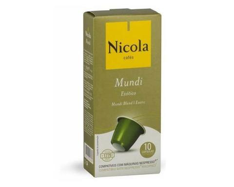 Кофе в капсулах Nicola Mundi