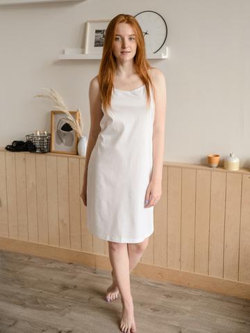 Сорочка ночная | сумрачно-белый