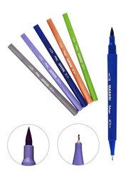 Mazari Intenso набор маркеров для скетчинга 12 шт двусторонние акварельные пуля/кисть 0.4-4.0 мм