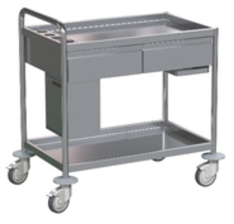 Стол для инструментов медицинский БТ-СТН2-113 - фото