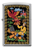Зажигалка Zippo Жар-Птица, латунь/сталь с покрытием High Polish Chrome, серебристая, 36x12x56 мм