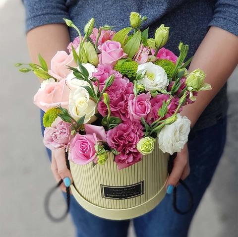 Коробка с микс цветами 8
