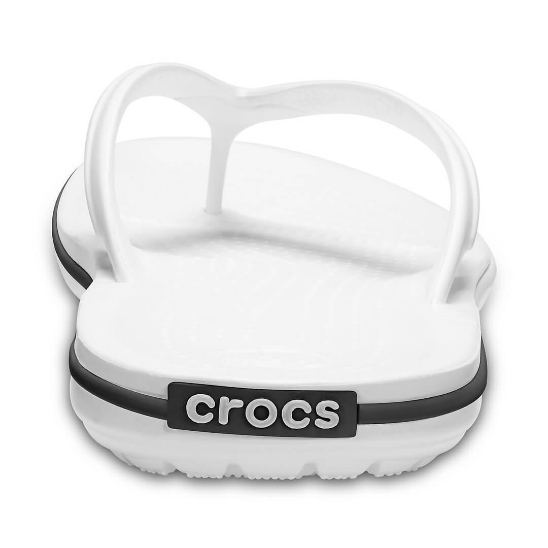 Шлепанцы Crocs Crocband Flip Белые