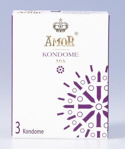Микс-набор презервативов AMOR Mix - 3 шт.