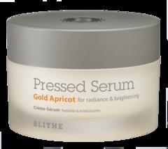 Спрессованная сыворотка-крем для сияния Blithe Gold Apricot, 50 ml
