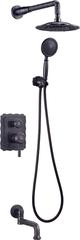 Комплект душевой системы внутреннего монтажа Lemark Jasmine LM6622ORB фото