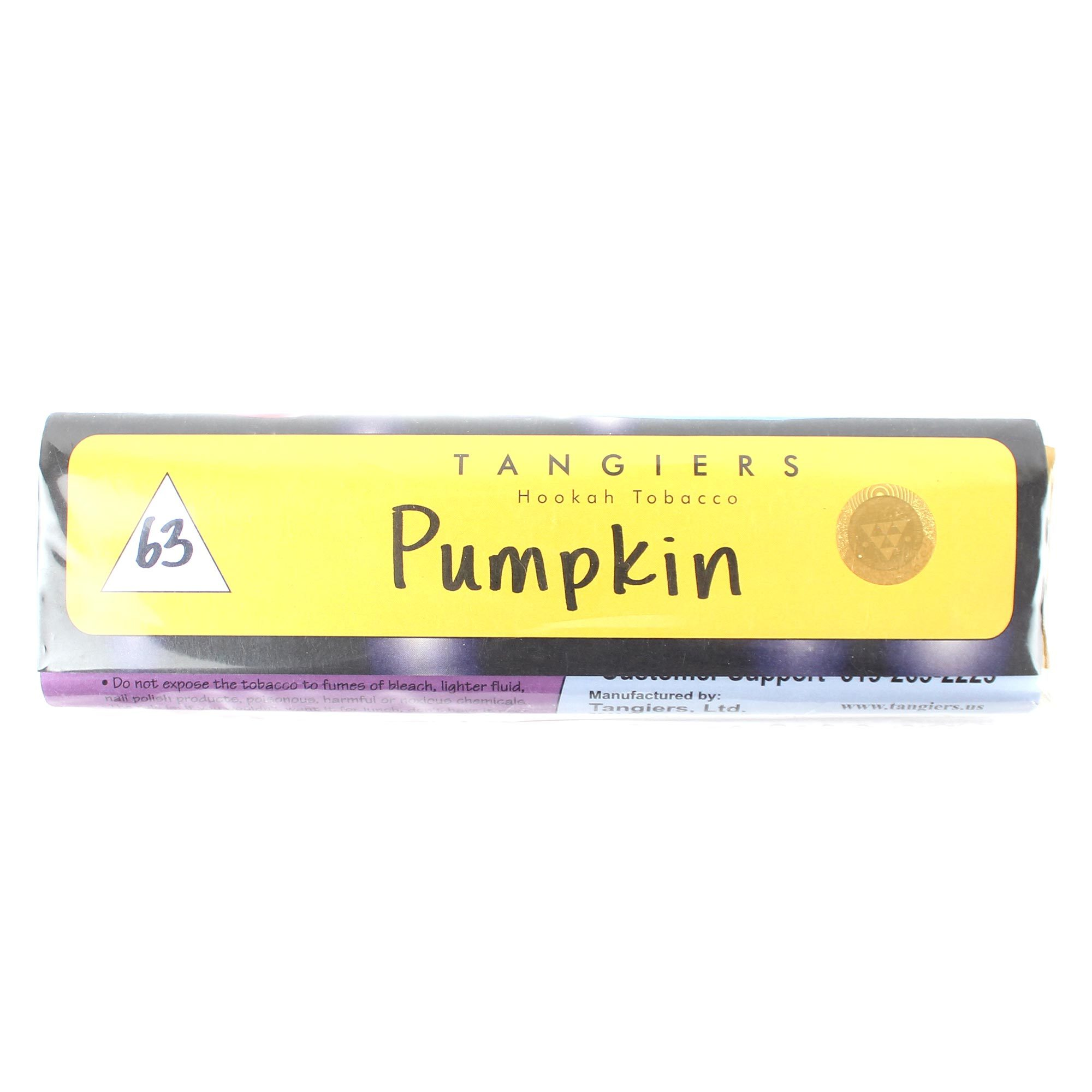 Табак для кальяна Tangiers Noir (желтый) 63 Pumpkin