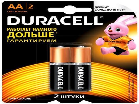 Э/п Duracell LR6 BL2   40/120