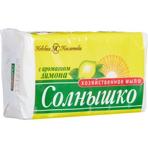 Мыло хозяйственное Солнышко 72% 140 г