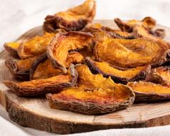 Персик вяленый био четвертинками