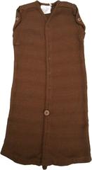 Спальный мешок для новорожденных,  0-3/4 мес (44-56/62 см), Коричневый (шерсть мериноса 100%)